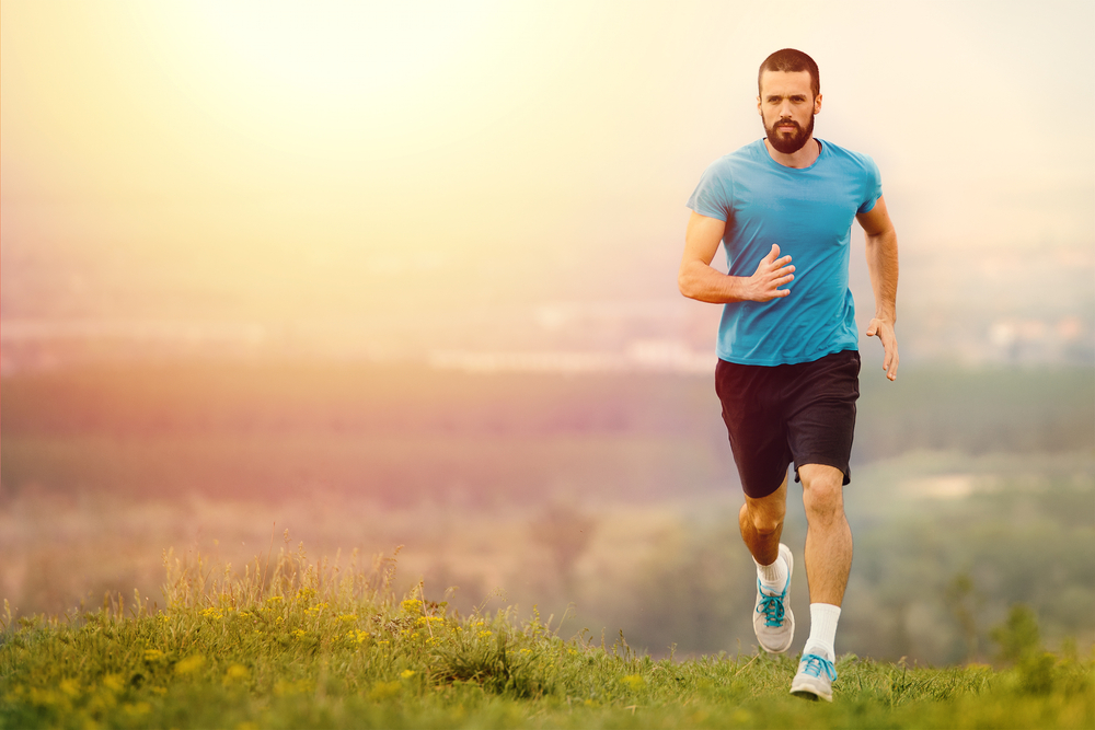 Running vs walking fast - fitness