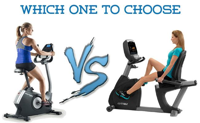 Recumbent vs upright Bike