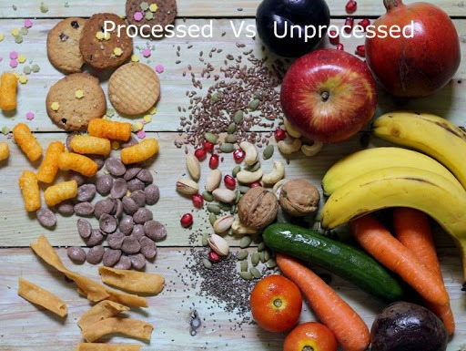 Processed food vs un processed food